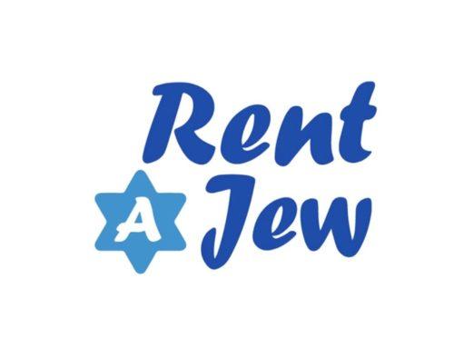 """Projekt """"Rent a Jew"""""""