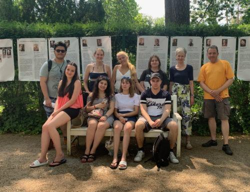 Exkursion des Politik-/Geschichte-Kurses der Kaufmännischen Assistenten Fremdsprachen nach Berlin