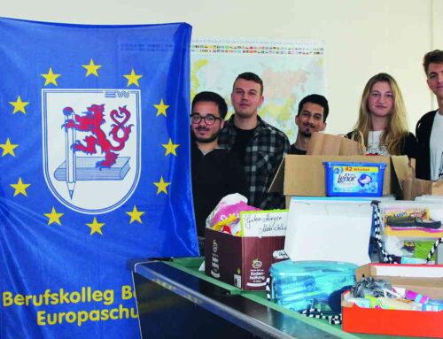 Schülerinnen und Schüler sammeln Spenden für Wohnungs- und Obdachlose